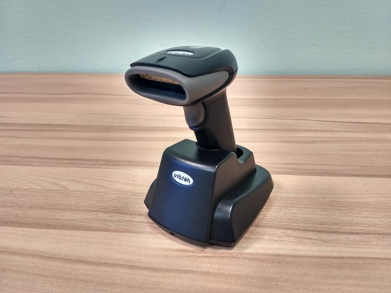 Лазерный сканер VIOTEH VT 2410, беспроводный, USB (USB-HID