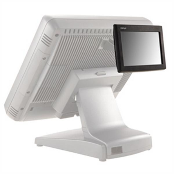Дисплей покупателя Posiflex PD-6307U-B черный для KS, USB